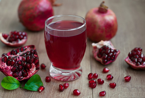 Pomegranate Fruit Juice Recipes Healthyliving From