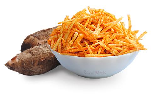 Kappa chips,tapioca chips