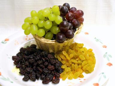 raisins varities and uses