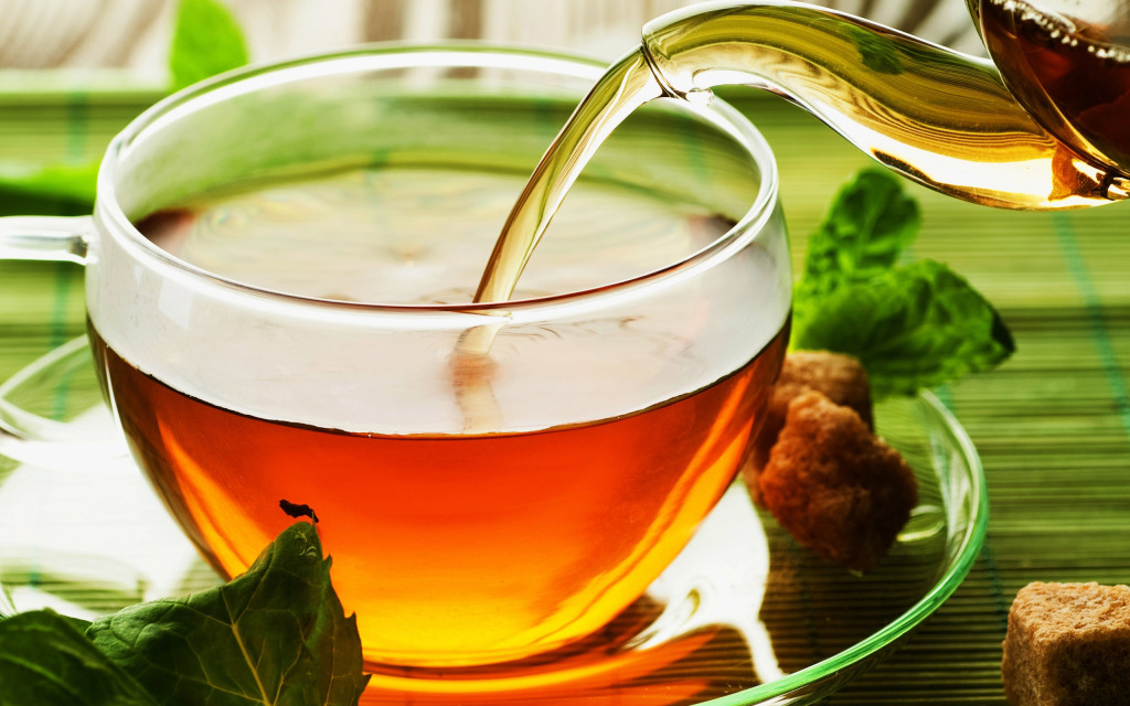 A powerful stimulant - An aromatic beverage - World wide consumed drink - Tea
