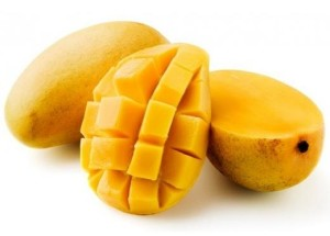 Artificial ripened mango fruit