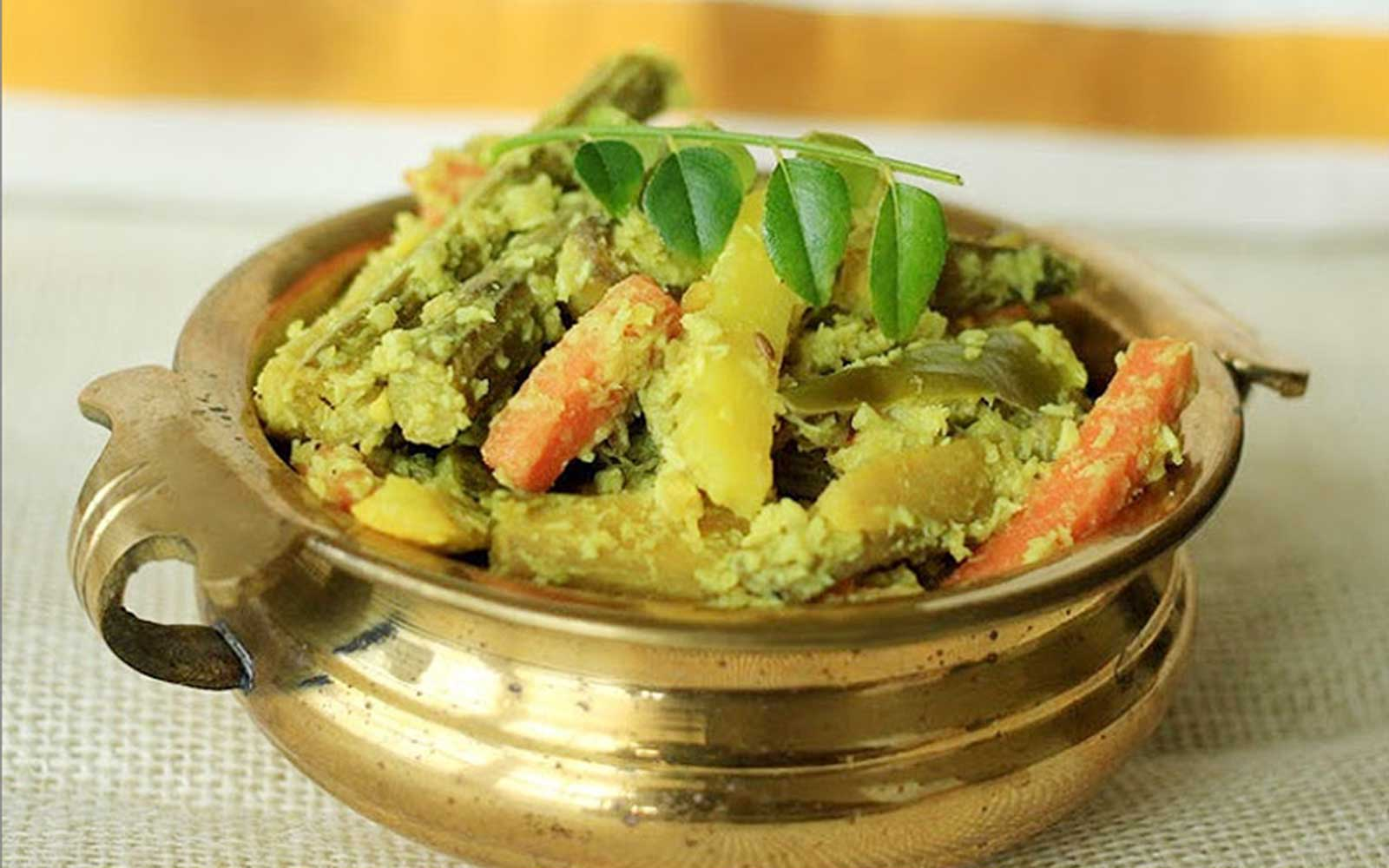 Avial kerala 39 s most special recipe healthyliving from for Avial indian cuisine