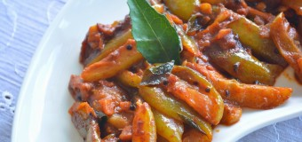 How to make bilimbi pickle? (chilimpikka or Irumban puli achar)