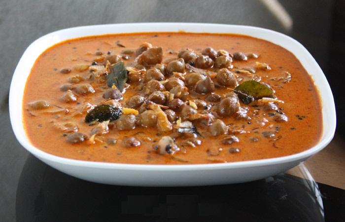Home made Kerala Kadala curry recipe