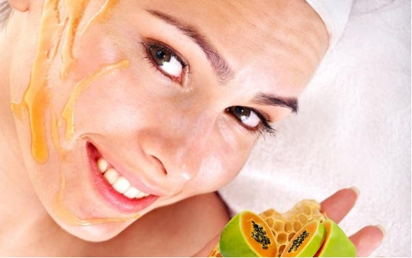 Papaya-And-Honey-Face-Pack-For skin whitening