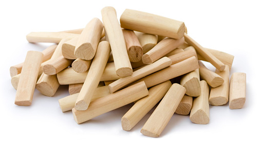 Sandalwood pieces