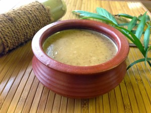Bamboo rice payasam Nature loc