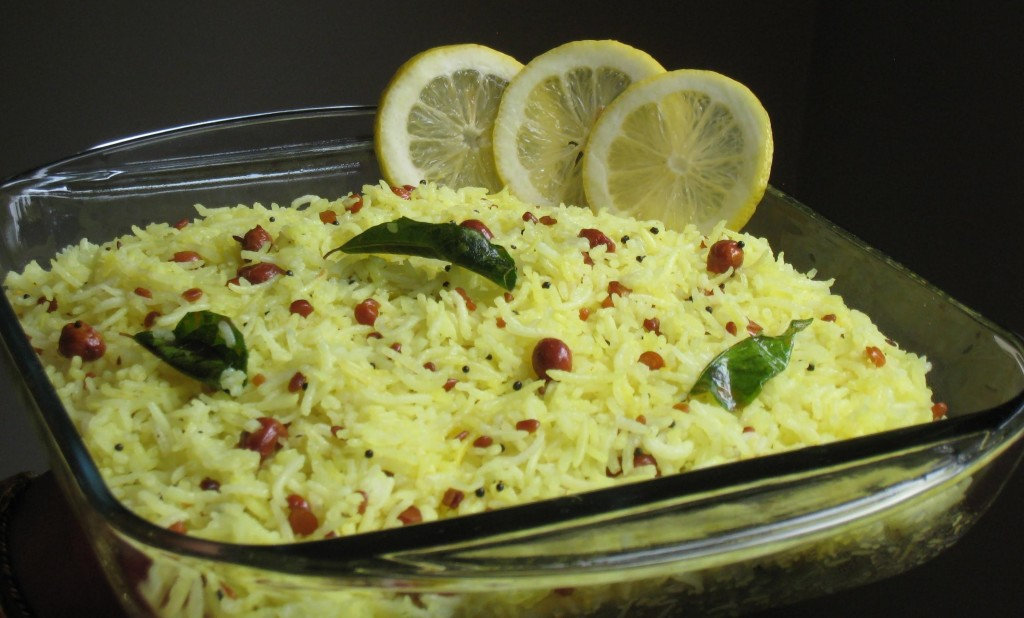 How to make tasty lemon rice
