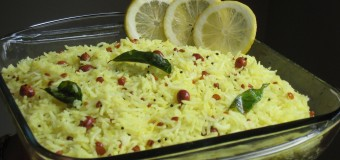 How to make tasty lemon rice?