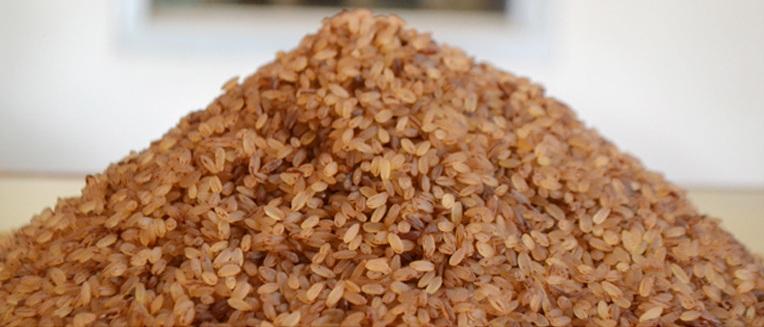 Kerala red rice or Matta rice