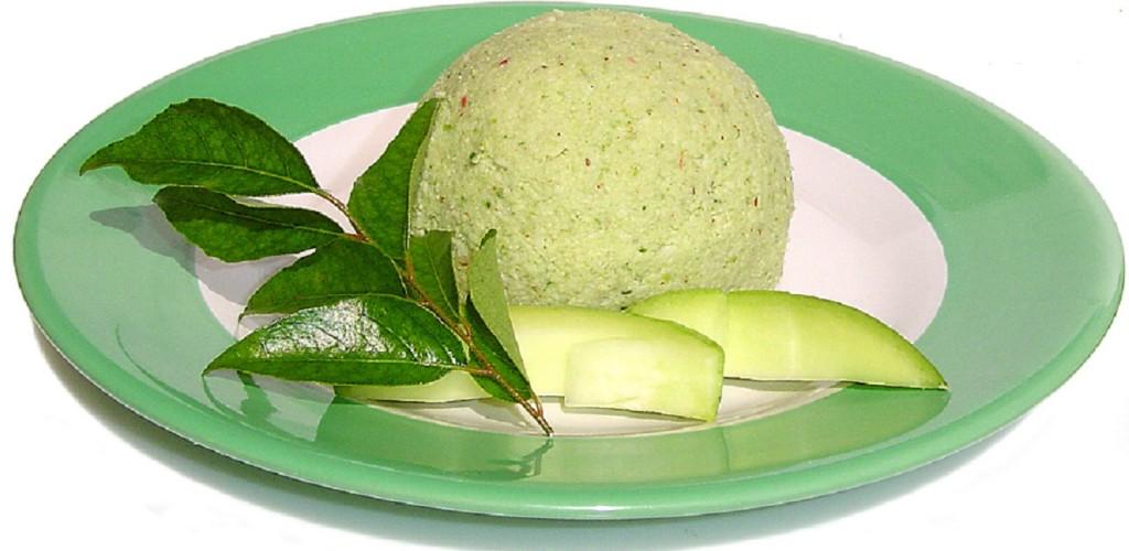 Pacha Manga Thenga Chammanthy -Kerala recipes