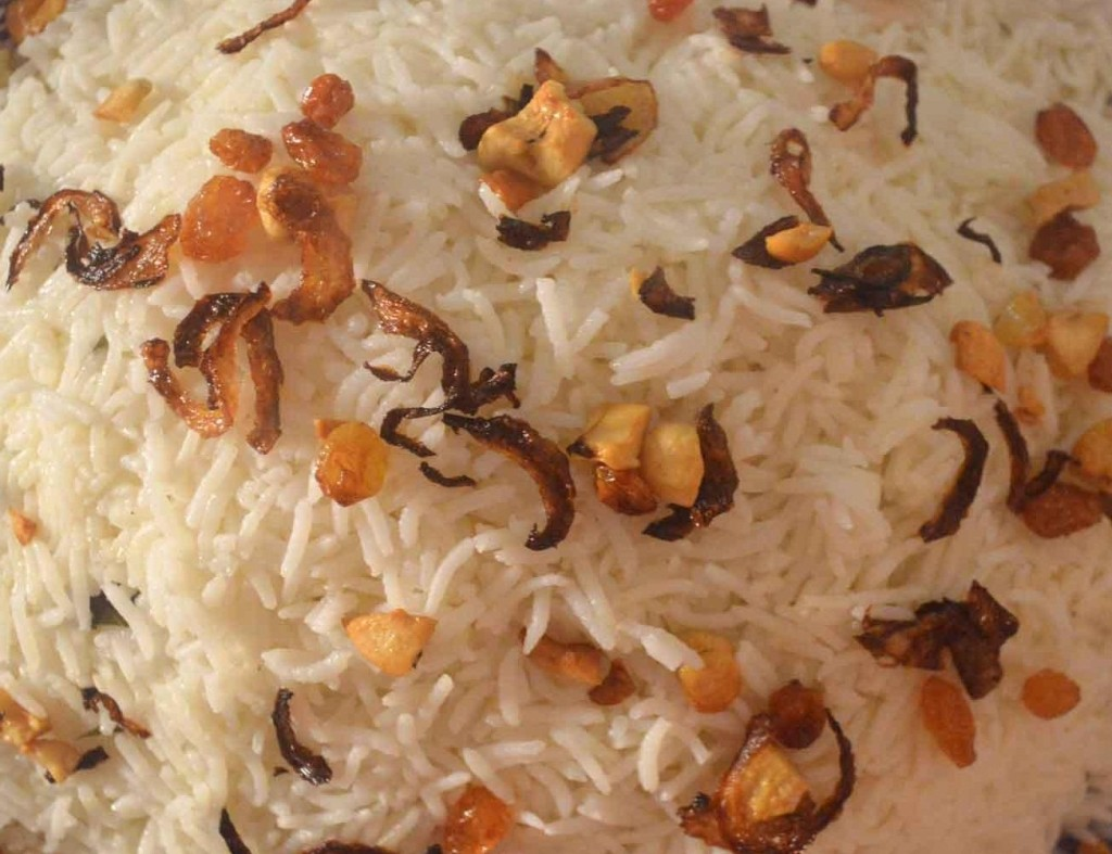Preparation of tasty Neychoru or Ghee rice