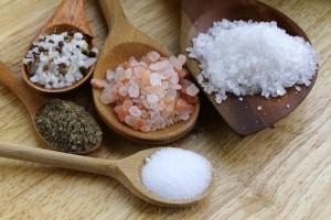 Salt-varieties -Types of salt rock salt kosher salt