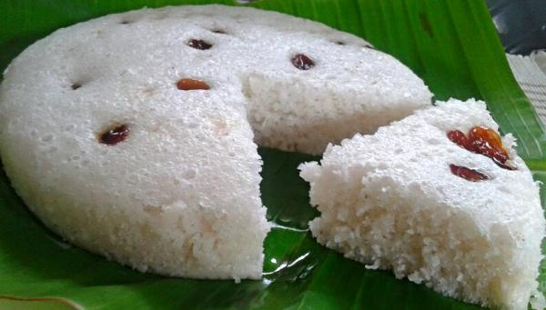 Vattayappam - Sweet and delicious steamed rice cake