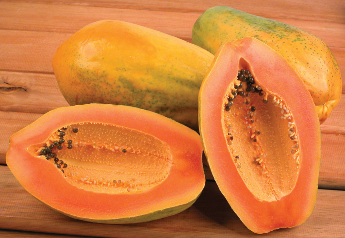 What's the health benefit of including Papayas in our diet?