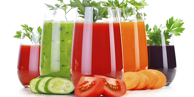 detox-diet for weight loss vegetbale juices natureloc