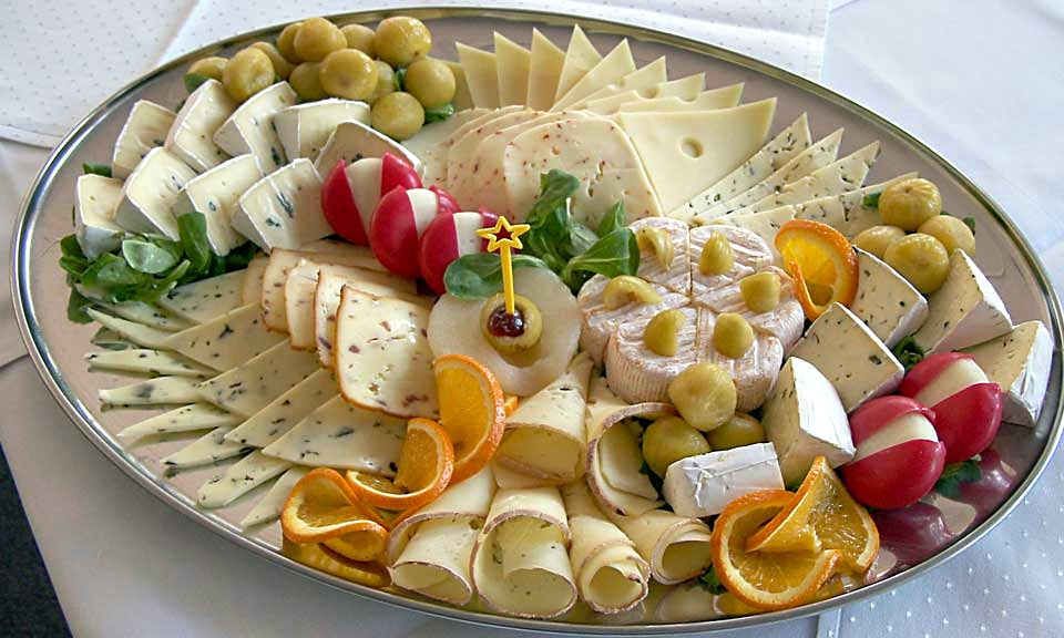 Cheese_platter - varities of cheese