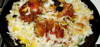 Tasty Chicken Biriyani preparation