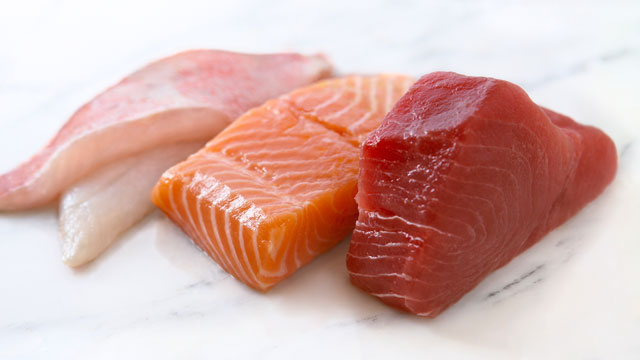 Fish therapy to prevent depression