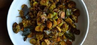Kovakka Mezhukkupuratti or Ivy gourd fry