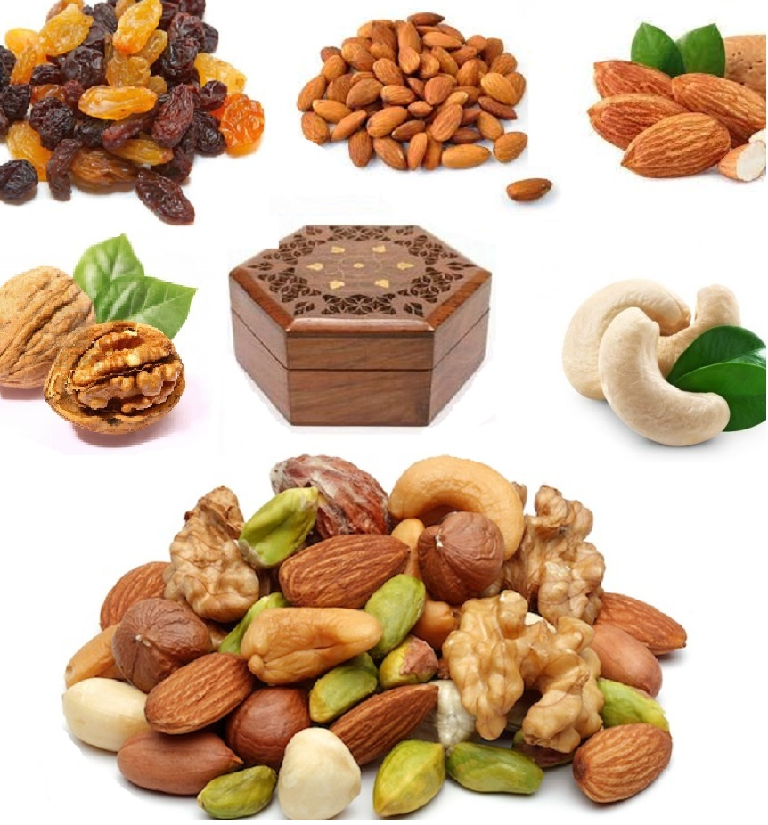 Mixed nuts ansd spices from Natureloc