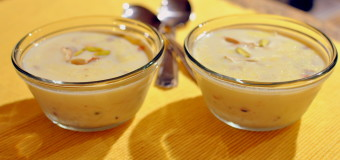 Pal payasam using Unakkalari or Unakkalari Payasam