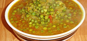Spicy Green Peas Curry