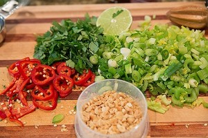 Thai salad with celery recipes ingredients
