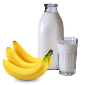banana milk -fourth day of diet