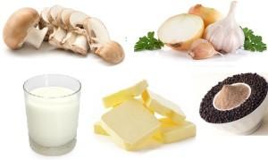 cream of mushroom recipes