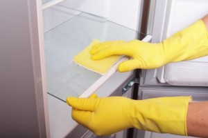 fridge cleaning with hydrogen peroxide