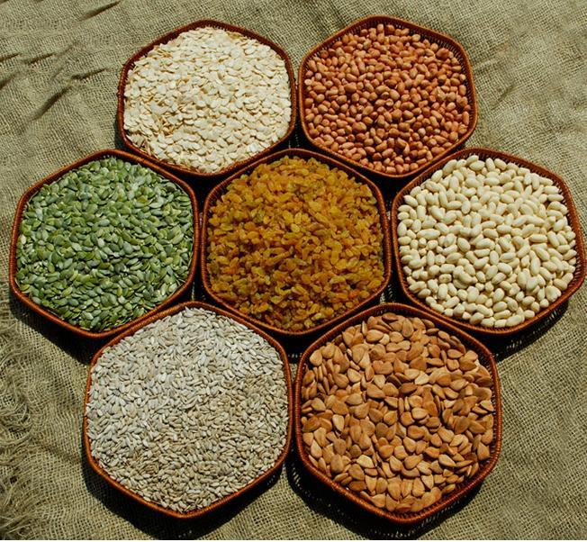 seeds varities nuts varities
