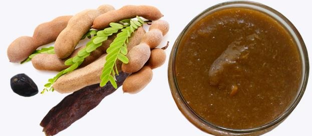 tamarind with tamarind paste