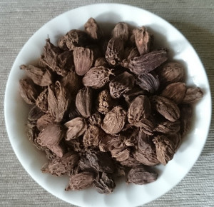 Black_Cardamom_or_Elaichi_in_a_plate_purchase on line from NatureLoc