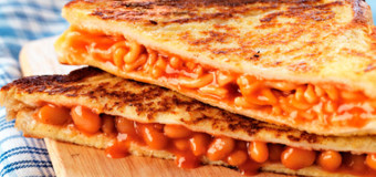 Toasted Bean Sandwich – Beans on Toast – Recipes