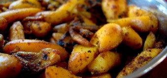 Chakkakuru Mezhukkupuratti or Jackfruit seed stir-fry