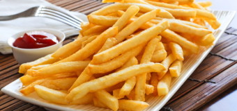 Hot, fresh and salty, Homemade French Fries