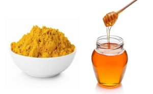 Honey-And-Turmeric simple home remedies for common alignemnts