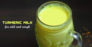Turmeric-Milk-for cough and cold