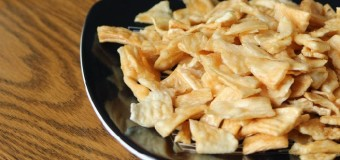 Unakka kappa varuthathu or Traditional fried tapioca chips