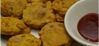 Aloo Kathal Chop tasty snack chops made by raw matured jackfruit (Kathal)