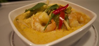 Chemmeen -Prawn Mapas – Kerala special prawn curry with coconut milk