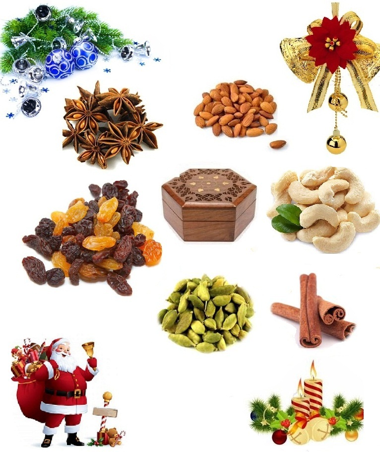Get high-quality Christmas and New Year Spices gift box - Kitchen Classics