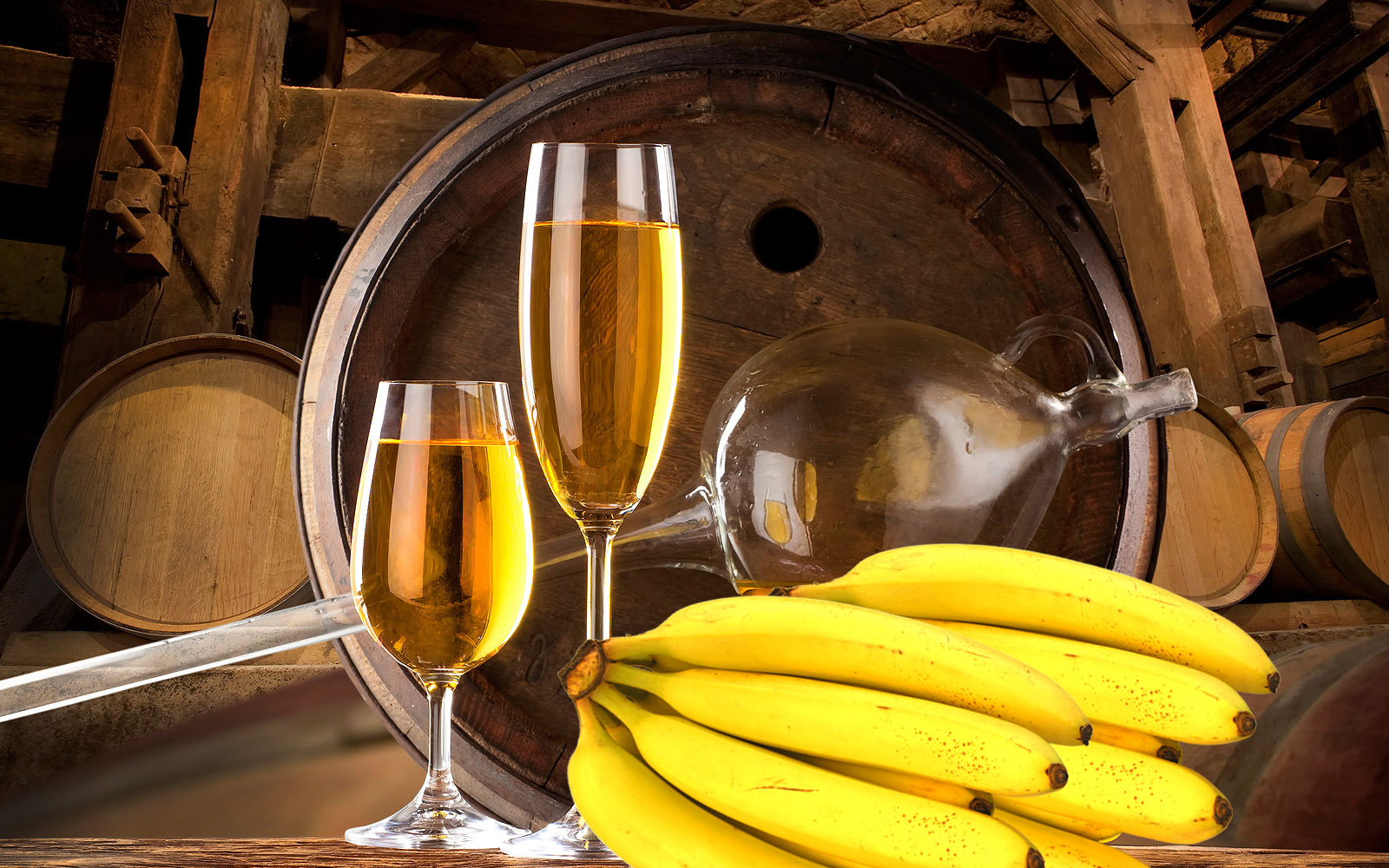 banana wine   a healthy fruit wine   healthyliving from