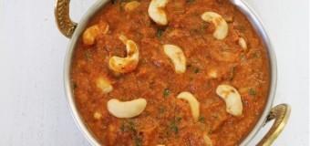 Cashew nut curry, Kaju butter masala, Kaju curry