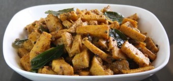 Chena Mezhukkupuratti or Elephant foot yam stir fry recipe