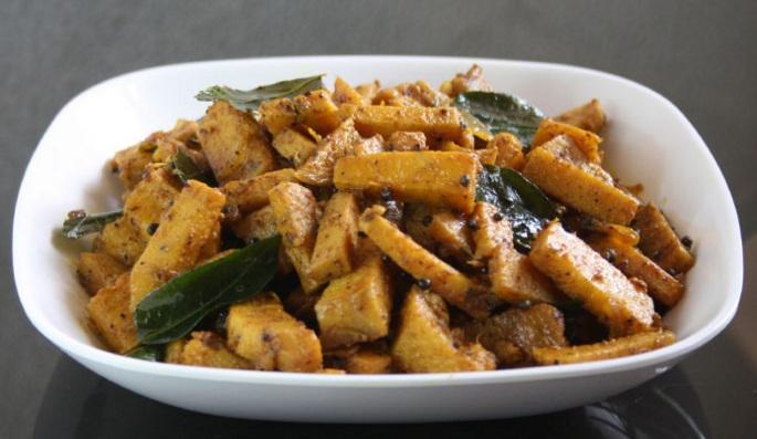 Chena Mezhukkupuratti or the Elephant foot yam stir fry recipe