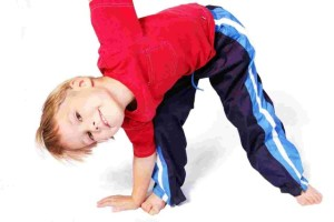 Children-Exercise boy