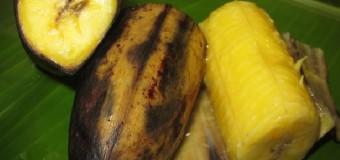 Ethakkapazham Puzhungiyathu or steamed ripe plantain