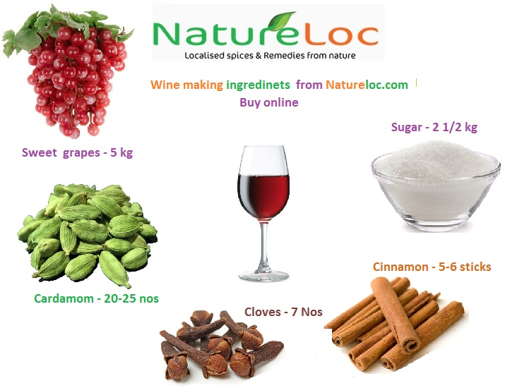 Home made wine making recipes